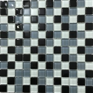 Grafite Mix Glass Mosaic