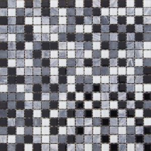 Atlantic Black Mosaic Sheets