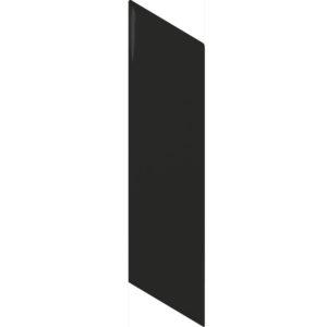 Arrow Matt Black- Right-Wall Tile