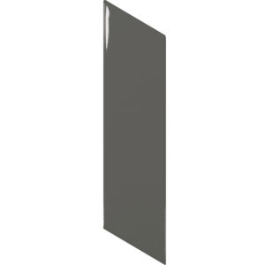 Arrow Gloss Dark Grey Right Wall Tile