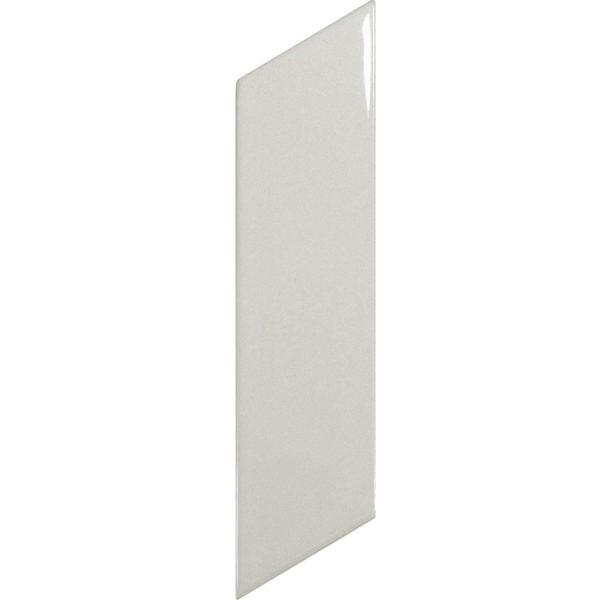 Arrow Gloss Light Grey- Left-Wall Tile