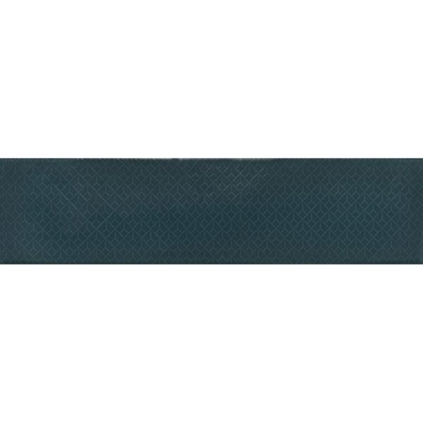 Arnold Turquoise Decor 10cm x 40cm Wall Tile