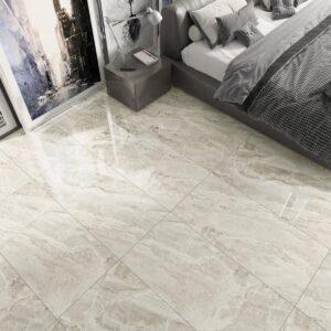 Marble Latte 60cm x 120cm Gloss Floor & Wall Tile