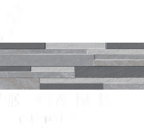 Aruzzo Grey 17cm x 52cm Stone Effect Wall Tile