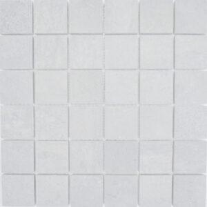 Zahara White Porcelain Mosaic