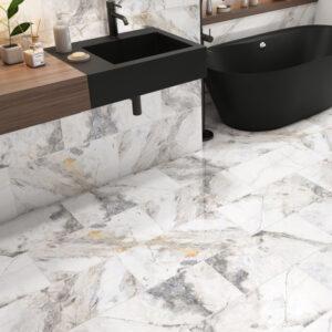 Visage 29.7cm x 59.7 Polished Wall and Floor Tile