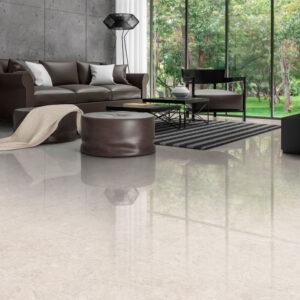 Frase White 60cm x 60cm Polished Floor & Wall Tile