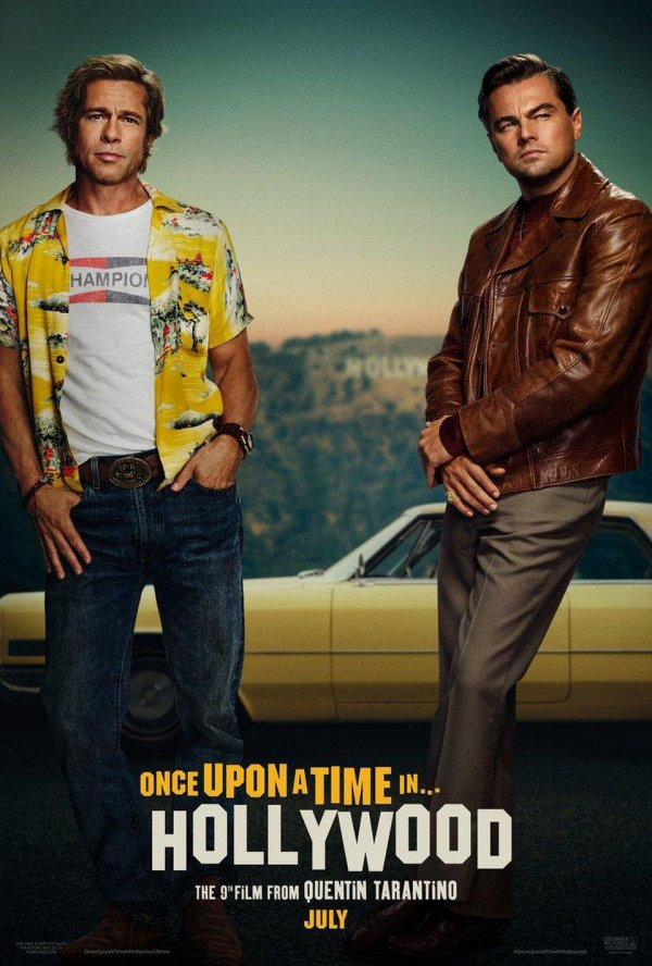 Leonardo DiCaprio & Brad Pitt Star In Once Upon a Time in Hollywood Movie