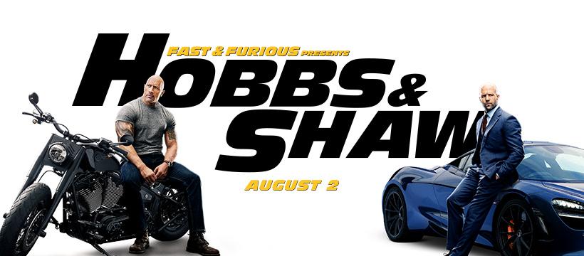 Fast & Furious Hobb & shaw