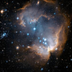 Hubble-Observes-Infant-Stars-in-Nearby-Galaxy