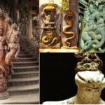 NAGA statues