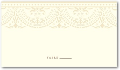 burlap and lace inspired wedding stationery