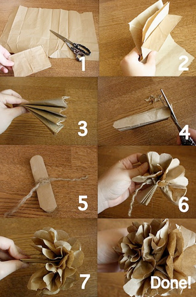 Tons of paper flower ideas!