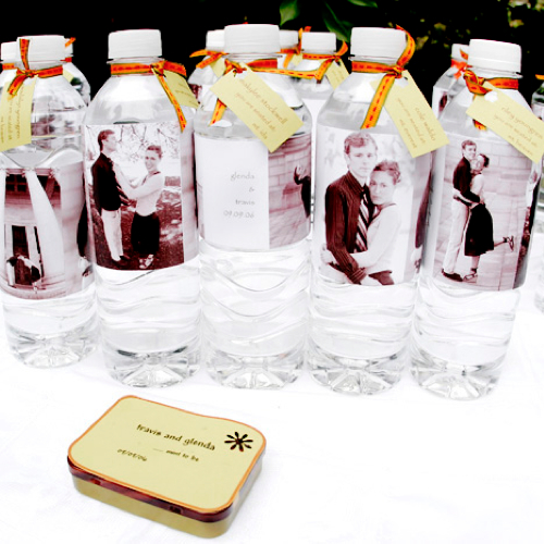 custom water bottle labels for parties