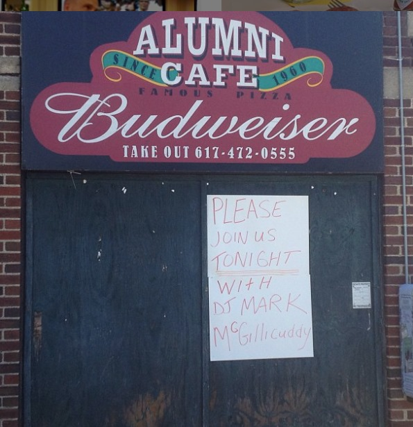 A tribute to an American culinary icon, the late, great Alumni Cafe