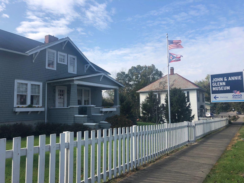 John Glenn's birthplace (+killer hot wings!) on The National Road