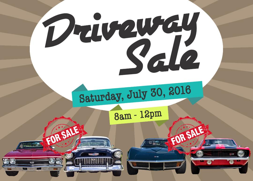 Driveway Sale