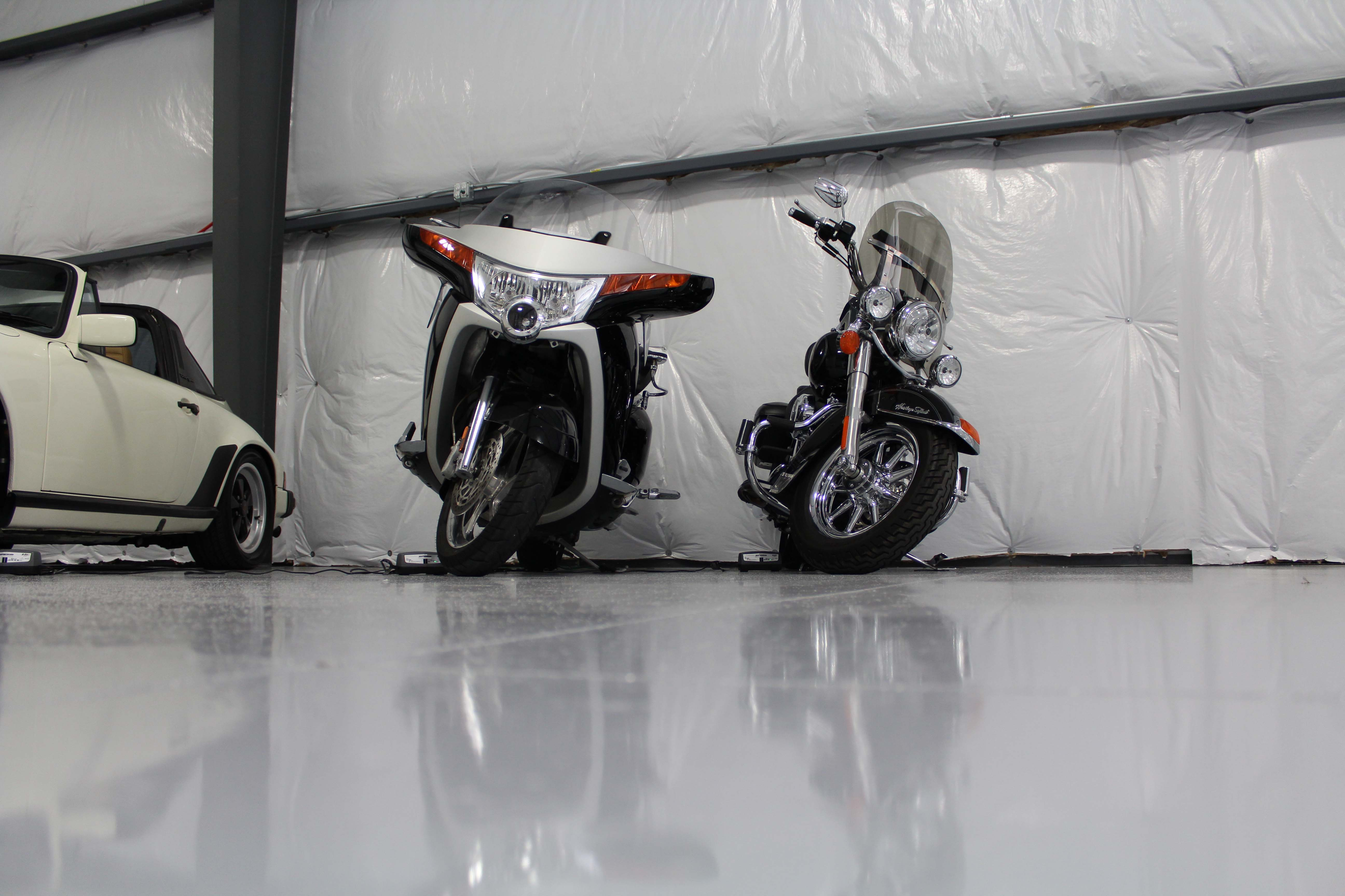 Floor Angle of Motorcycles
