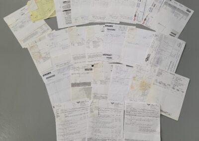 67 Vette Paperwork