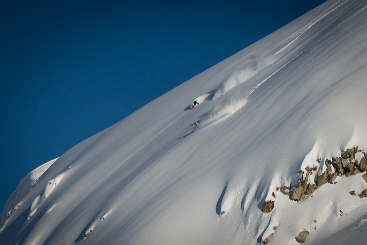 Location: Alaska Rider: Talon Gillis Bottom  Dave Henkle top Pho