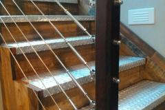2Railings-+galvanized steel steps-RAW Metal Works