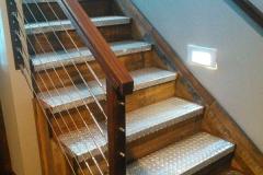 5Railings-+galvanized steel steps-RAW Metal Works