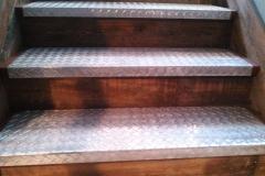 galvanized steel steps-CU-RAW Metal Works
