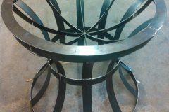 Iron-Circular-Plant-Stand- RAW Metal Works