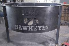 RAW-Metal-Works-Iowa-Hawkeye firepit