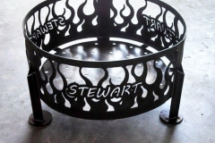 Stewart-Firepit-RAW Metal Works