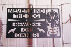 Beware-Of-Owner-Sign-RAW Metal Works