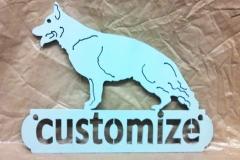 Customizable-Metal-dog-sign-RAW Metal Works
