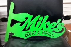 MIkes-Bar-&-Grill-Sign-RAW Metal Works