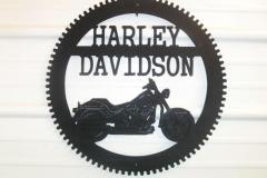 Metal-Harley-Davidson-sign-RAW Metal Works