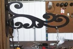 Sign-holder-RAW Metal Works