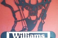 Williams-Deer-Sign-RAW Metal Works