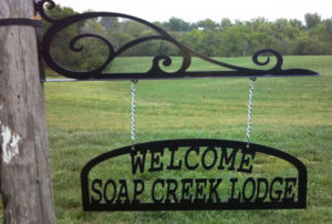 Welcome-Lodge-sign-RAW-Metal Works