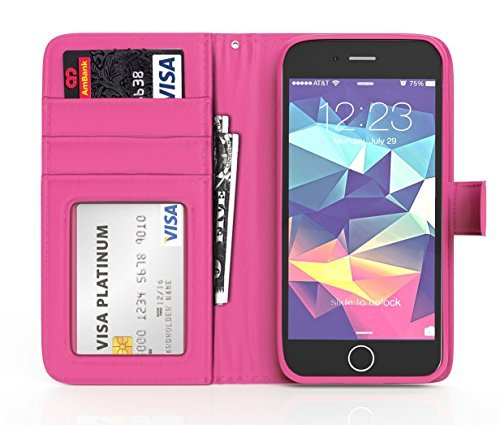 iPhone-6-Plus-Case-ImpactStrong-Leather-Wallet-Cover-Flip-Folio-Wallet-Card-Slot-Holder-Drop-Protection-Synthetic-L-B01DG89YKO