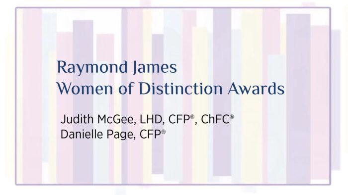 Women of Distinction Award