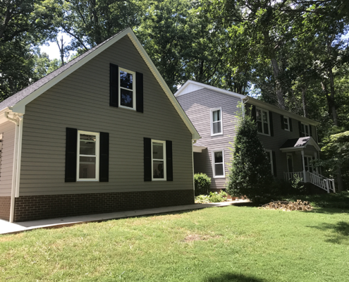 new siding, windows and roof