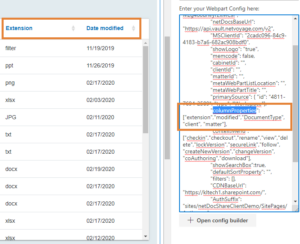 Show or Hide any NetDocuments custom profile attributes on netDocShare webparts
