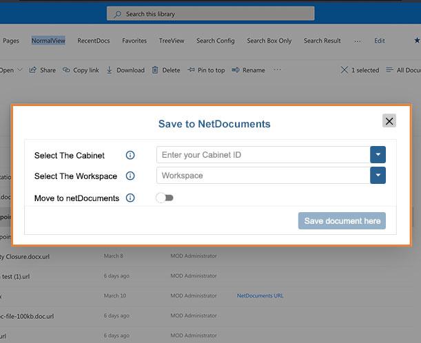 netDocShare-save