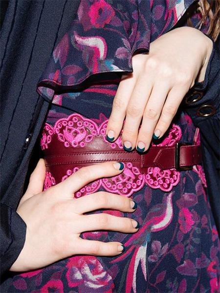 fashion week nail trends