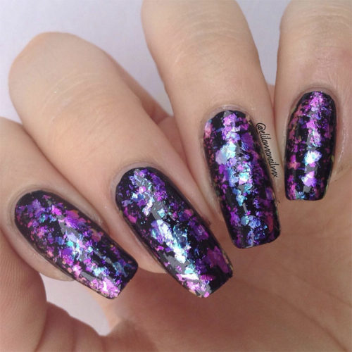 the ultimate guide to galaxy holos and chameleon flakes
