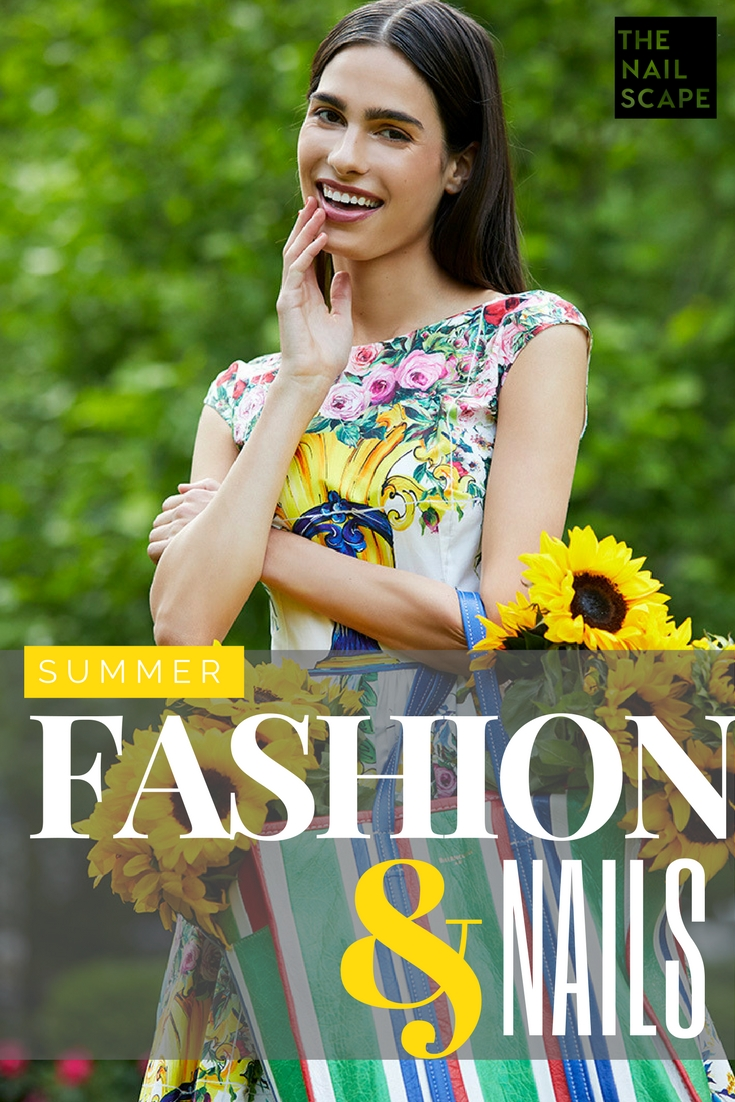 The Nailscape - Our Summer fashion and nails editorial preview
