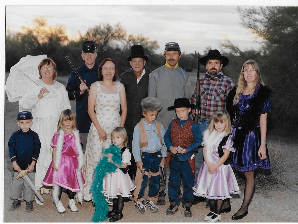 2002- Western Family Photo