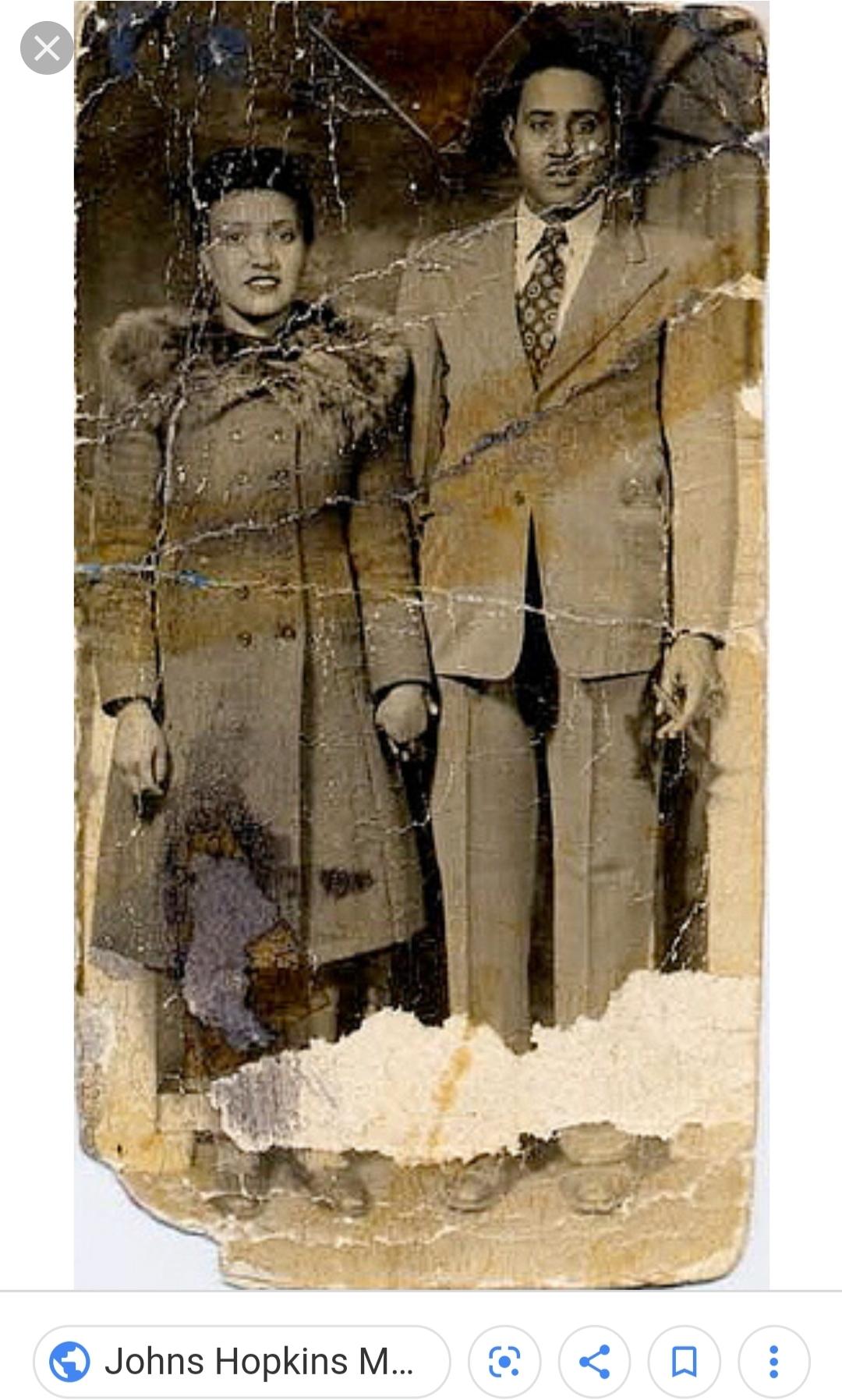 Henrietta and Her Husband