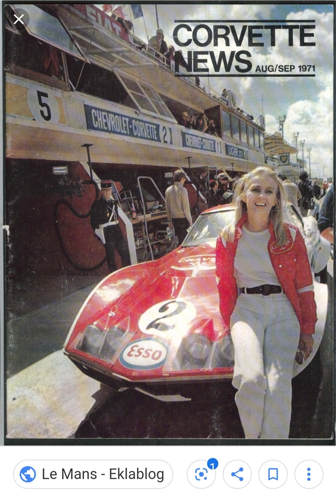 Courtesy of Le Mans Eklablog
