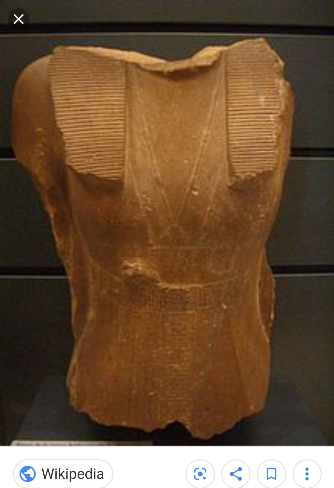 This piece of a statue is one of the few confirmed to depict Sobekneferu