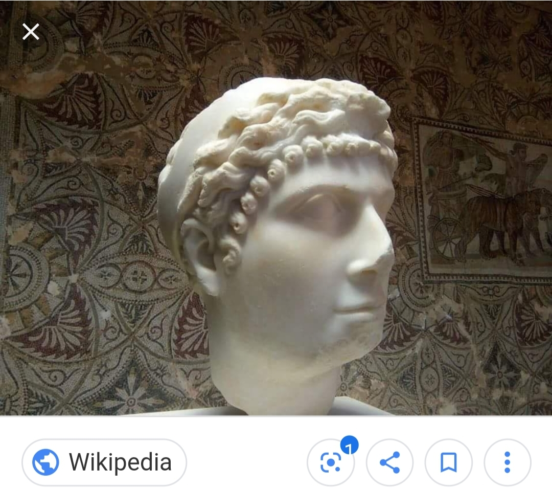 Note: This Bust represents either Cleopatra Selene or her mother Cleopatra VII